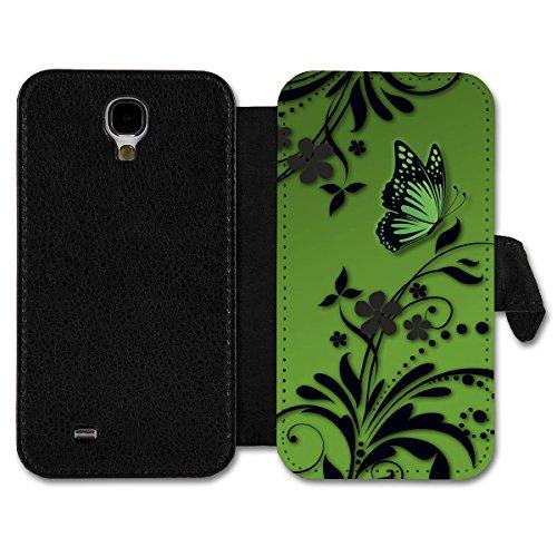 Book Style Flip Handy Tasche Case Schutz Hülle Schale Motiv Etui für Huawei Ascend Y300 - A14 Design5