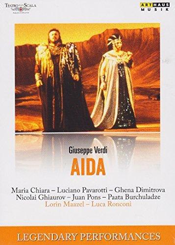 Verdi:Aida [Maria Chiara; Luciano Pavarotti; Ghena Dimitrova; Juan Pons; Paata Burchuladze] [ARTHAUS [2015] by Unknown(2015-06-01)