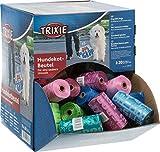 Trixie 22843 Dog Pick Up - Confezione di 70 Rotoli di Sacchetti dei rifiuti per Cani, Misura M, 20 Sacchetti Ogni Rotolo, Colori Assortiti