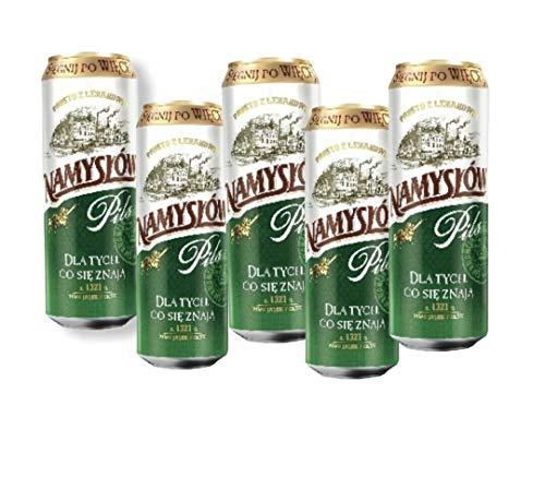 12x Dosen 500ml Namyslow Pils der einzigartige Geschmack aus Polen Bier Beer