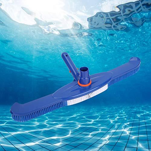 Shipenophy Limpiador de succión de Piscina con Cabezal de aspiración de Piscina de diseño 2 en 1 Resistente, Aspirador de Piscina de Alta eficiencia para Paredes, Azulejos y Suelos