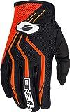 O'Neal Element Glove Guantes para Bicicleta, Mb, Descenso, Dh y Mx, XS, Naranja