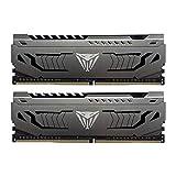 Patriot Viper Steelスシリーズ デスクトップ用extremeパフォーマンス、独自のアルミグリース DDR4 PC4-25600 (3200MHz) 1.35V 64GBキット- PVS464G320C6K