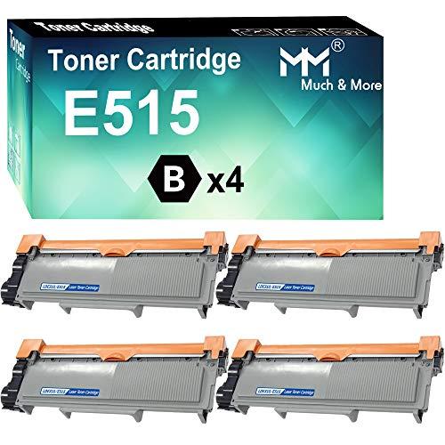 MM MUCH & MORE Compatible Toner Cartridge Replacement for Dell E310dw P7RMX PVTHG 593-BBKD E310 E514 E515 use for E310DW E515DW E514DW E515DN Printer (4 Pack)