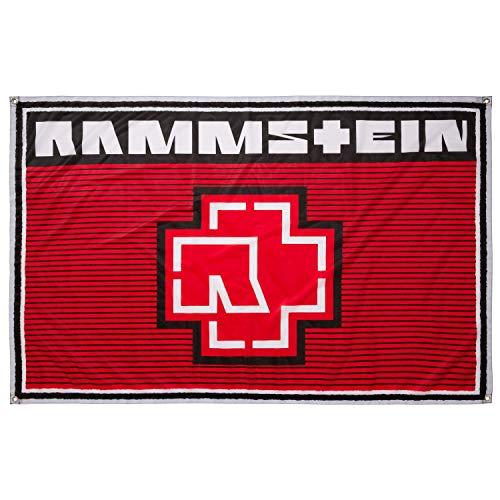 Rammstein Fahne Flagge Sommer 2019
