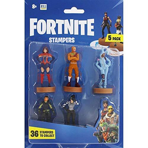 Fortnite figuras de acción | Juego de 5 figuras de Fortnite juguete coleccionables | Juguetes para adultos y niños | Accesorios Fortnite y regalos para jugadores,  paquete de 5 (selección aleatoria)