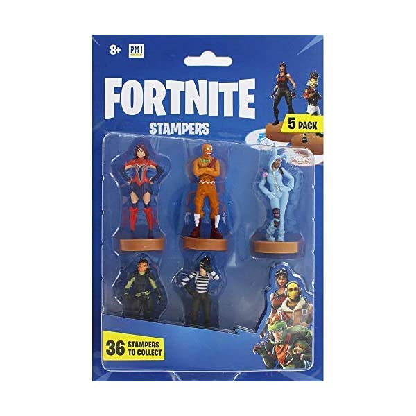 Fortnite figuras de acción | Juego de 5 figuras de Fortnite juguete coleccionables | Juguetes para adultos y niños… 1