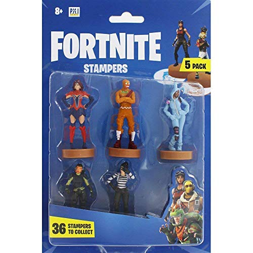 Fortnite Actionfiguren | Set mit 5 Figuren Sammlerspielzeug | Spielzeug für Erwachsene & Kinder Zubehör & Geschenke für Gamer | 5 Pack (zufällige Auswahl)