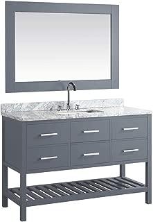 50 inch double vanity top