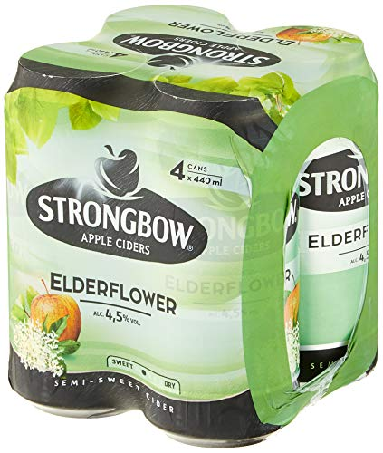 Strongbow Cider Elderflower Cider (24 x 440ml)