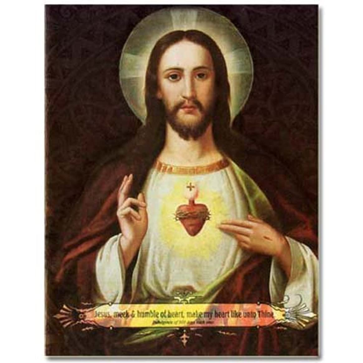 Holy Note Card with Bookmark - Sacred Heart