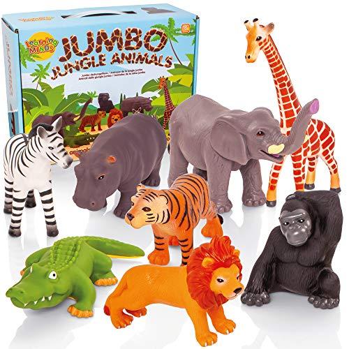 Learning Minds Conjunto de 8 Figuras Jumbo...