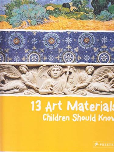 Image of 13 Art Materials Children Should Know (13 Children Should Know)