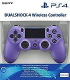 Sony Manette PlayStation 4 officielle, DUALSHOCK 4, Sans fil, Batterie rechargeable, Bluetooth, Electric Purple (Violet...