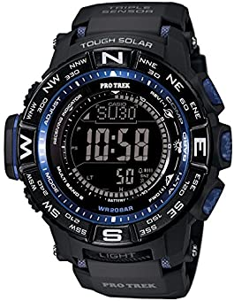 [カシオ] 腕時計 プロトレック MULTI FIELD LINE 世界6局対応電波ソーラー PRW-3500Y-1JF ブラック