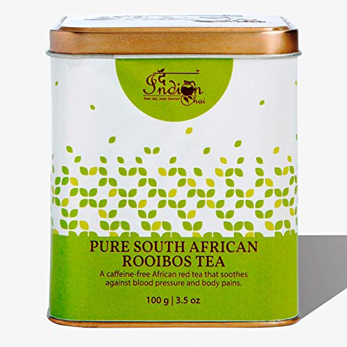 The Indian Chai - South African Rooibos Tea 100g | Caffeine Free - For Healthy Sleep and Weight Loss