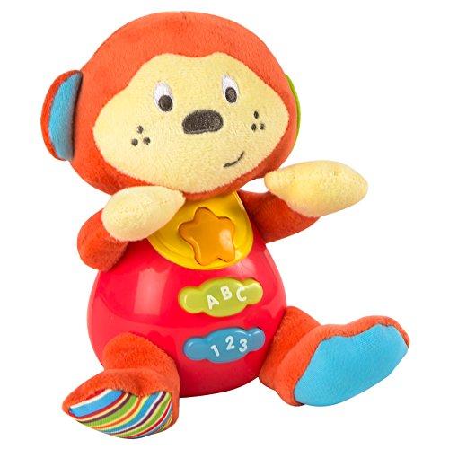 winfun–Peluche pour bébé Qui Parle en Espagnol et Diffuse des lumières de Couleurs ColorBaby 85178 Combinaison
