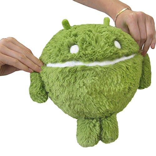 "Squishable Android Symbol Plush, Green, Mini 7"""