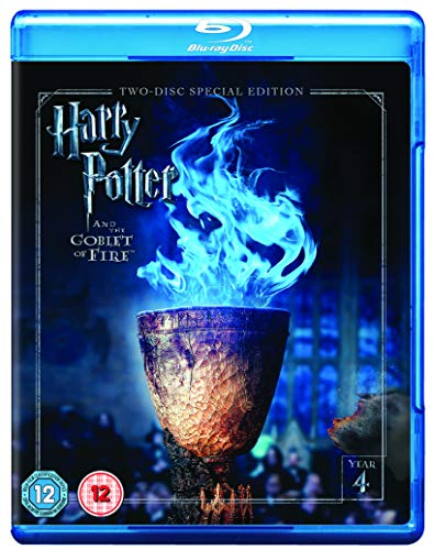 Harry Potter and the Goblet of Fire [Year 4] [2016 Edition 2 Disk] [Blu-ray] [2005] [Region Free]