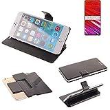 K-S-Trade® Schutz Hülle Für Lenovo Z5 Pro GT Schutzhülle Flip Cover Handy Wallet Case Slim Handyhülle Bookstyle Schwarz
