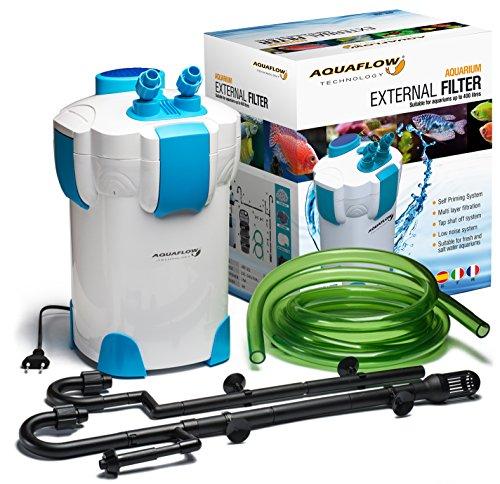 Aquaflow Technology® Super AEF-302 Filtro externo del tanque de pescados del acuario