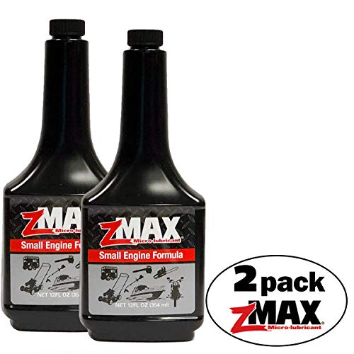 zMAX 58-012 - Small Engine Formula - Micro-Lubrication for 2- and 4-cycle Gas or Diesel Engines - Reduces Carbon Build-Up and Corrosion -  Lubricates Metal Improving Efficiency - 12 oz. - 2 pack