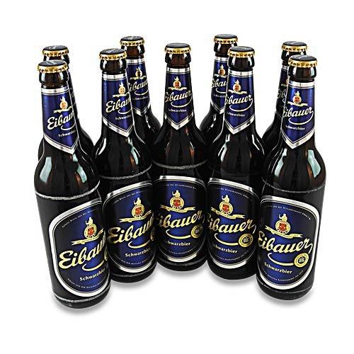 Eibauer Schwarzbier - (9 Flaschen à 0,5 l / 4,5% vol.)