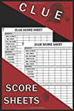 Clue Score Sheets: 120 Clue Game Sheets, Clue Detective Notebook Sheets, Clue Replacement Pads, Clue Board Game Sheets