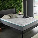 Early Bird Performance 10-inch Hybrid Memory Foam and Spring Mattress, Copper Infused Anti-Microbial Memory Foam,...