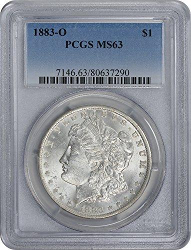 1883 O Morgan Dollar MS63 PCGS