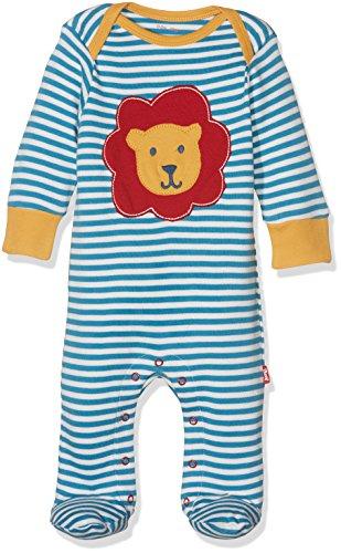 Kite Lion Sleepsuit Pyjama, Blue (Bluejay), Nouveau né Bébé garçon