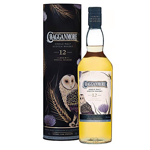Cragganmore Special Release 2019, 12 Jahre Single Malt Whisky (1 x 0.7 l) with Gift Box