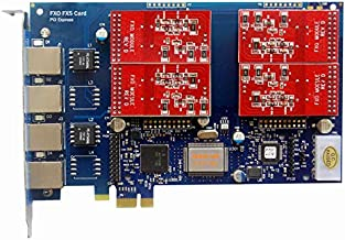Analog FXO Card with 4 FXO Ports,PCI Express (PCI-E) Connector,For Issabel ,Freepbx,AsteriskNow tdm410e tdm400e