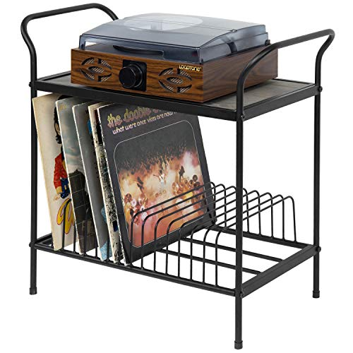 7. MyGift Turntable Stand