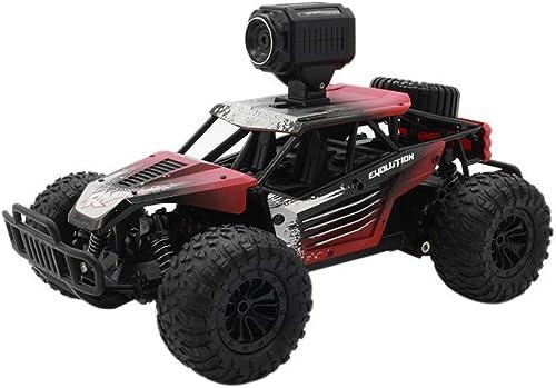 GXYSZ High Speed RC Gel ewagen mit HD 1 18 25 km h Kamera Fernbedienung Racing Truck Radio Control Unabh ige Suspension Jeep Auto Spielzeug (Rot)