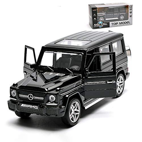 ZXYSR Maqueta Coche Mercedes-Benz G-Clase G65, Modelo A Escala Original 1:32, Coche De Fundición A Presión De Simulación Estática, Cuerpo De Metal, Modelo Terminado, Coleccionables, Regalos, B