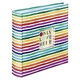 """Hama - Album Memo """"Rainbow"""", 22,5 x 22 cm, 100 pagine, max 200 foto 10 x 15 cm"""