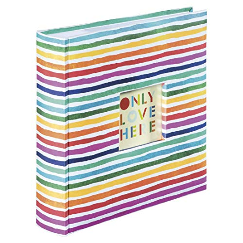 """album fotografico 200 pagine Hama - Album Memo """"Rainbow"""""""