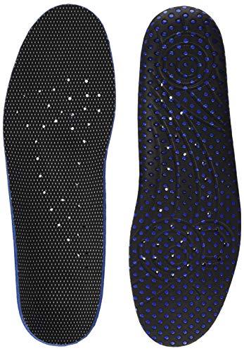 Bama Fresh Deo Komfort Fußbett, Schuh-Einlegesohle für hygienische frische Füße, Unisex, Größe: 38, Schwarz/Blau