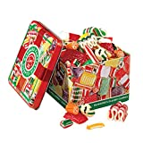 Old Fashioned Christmas Holiday Classics Mix Hard Candy in Decorative...