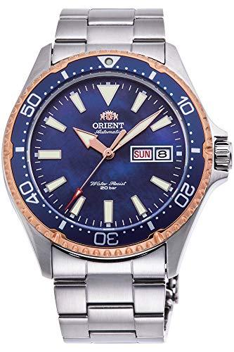 Orient - Reloj de Pulsera, Azul (RA-AA0007A09B)