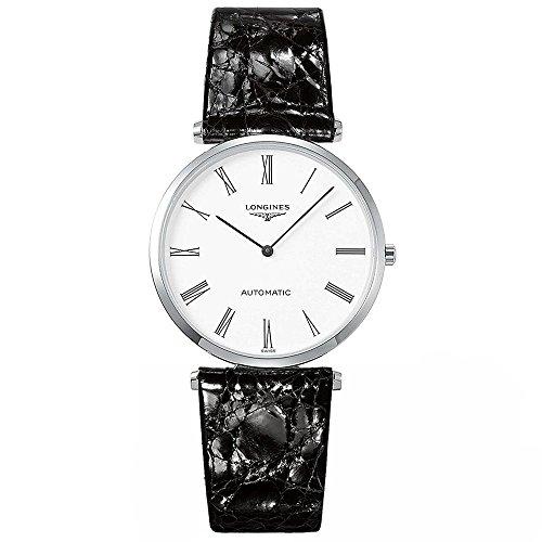 Longines orologio La Grande Classique de Longines 36mm Bianco Acciaio uomo quarzo L4.908.4.11.2