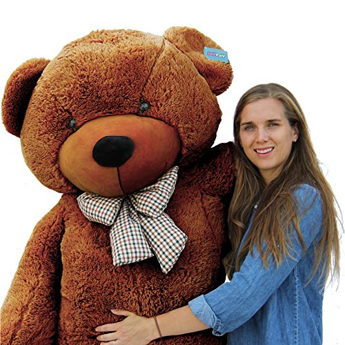 "Joyfay 78"" Giant Teddy Bear Dark Brown Valentine's Gift"