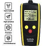 Wysgvazgv Etilometro Portatile Digitale, Professionale Alcool Tester Respiro Schermo LCD S...