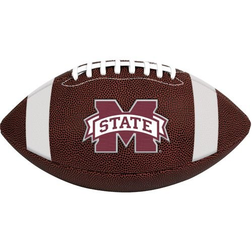 NCAA Game Time Full Size Football , Mississippi State Bulldogs, Brown, Full Size