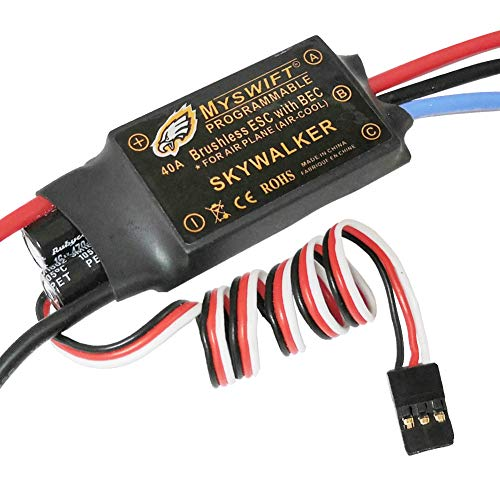 2-3s 40A Brushless with UBEC Electric Speed Controller for RC Airplane Skywalker Helicopter 450