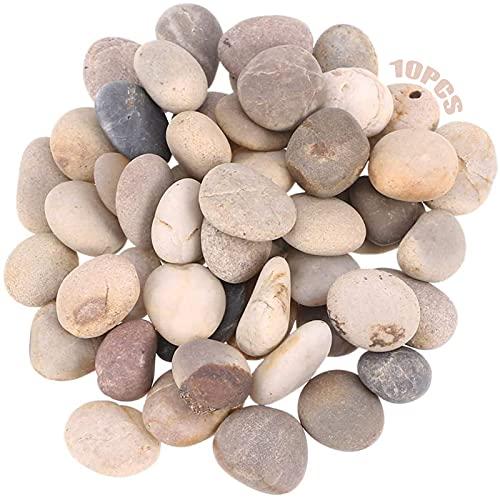 Roca Roca Lisas 10 Piezas Guijarros De Playa Piedras De Cantos Pintar Rocas Piedras Rocas Naturales Del Rio Pequeñas Rocas Pintura Piedras Planas Para Pintar Pintar Rocas Para La Decoración Del Jardín