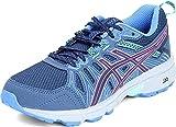 ASICS Women's Gel-Venture 7 Running Shoes, 8.5, Peacoat/HOT Pink