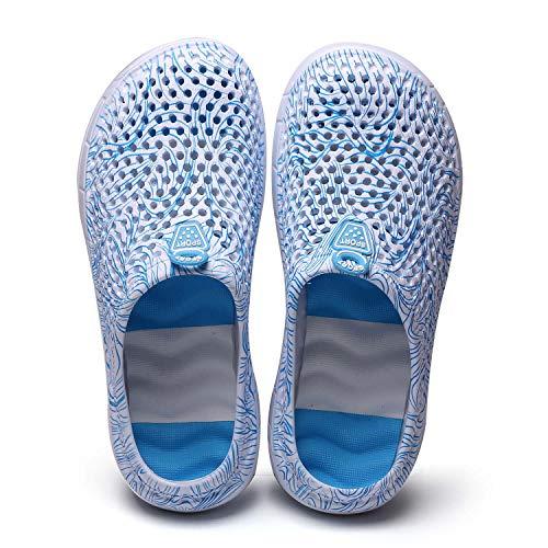 CERYTHRINA Sandalias de malla ligera transpirable de secado rápido, zapatillas de playa antideslizantes para jardín