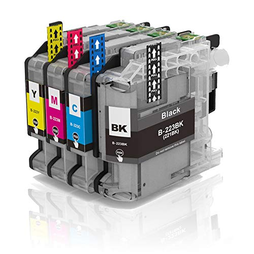 Alaskaprint 4X kompatible Druckerpatronen als Ersatz für mit Brother LC223 XL LC223XL LC-223XL LC-223 XL mit Brother MFC-J5320DW DCP-J4120DW MFC-J480DW MFC-J5720DW MFC-J5625DW MFC-J4620DW